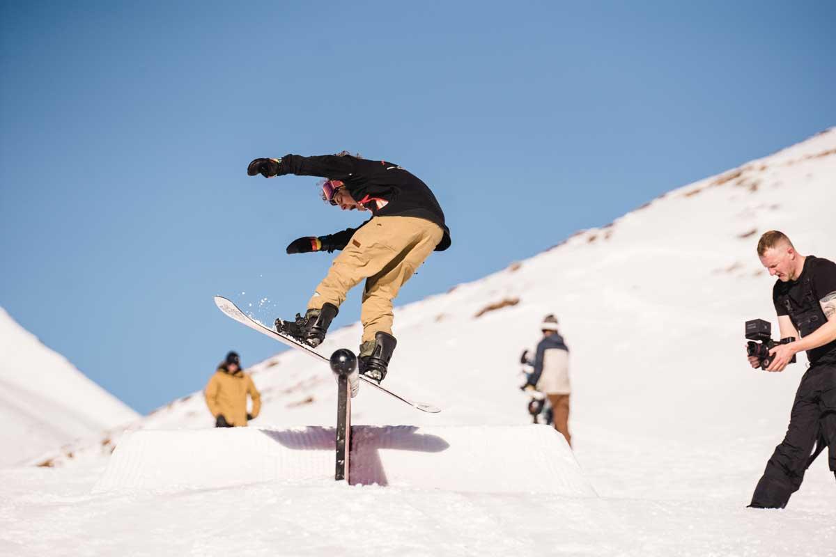 Snowboardparkdamüls Bilder gemacht von Pia Berchtold