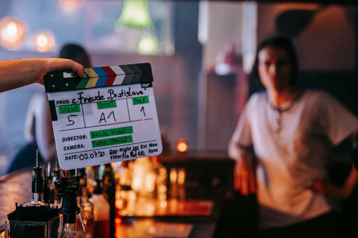 Pia Pia Pia. Musikvideo Dreh Making-og Bilder.