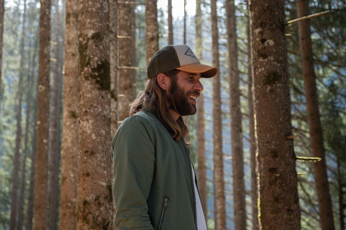 Zu sehen ist Christoph Comper alias Prinz Grizzley bei dem Dreh für ein Musikvideo. gemacht von Pia Berchtold.